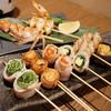 海鮮・串焼き 満天 - 料理写真:串盛り