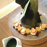 CAFÉ de ROMAN -  【2017/6】期間限定・抹茶チョコモンアフォガート