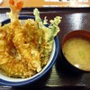 天丼てんや - 料理写真:「天丼」味噌汁付き。500円也。税込。