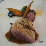 リヴィエール - 料理写真:フランス産鴨のローストラック・オー・ヴィネーグル