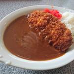 レストラン利根 - カツカレー ¥770