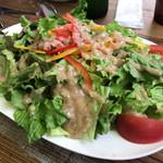CALIFORNIA DINING THUNDER STEAK&HAMBURGER - グリーンサラダ