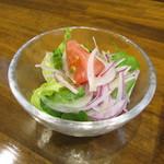 垂水ビストロ シャコルザ - 旬彩サラダ