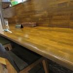垂水ビストロ シャコルザ - 内観:カウンター席