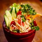 Bangkok Night - 青パパイヤのサラダ