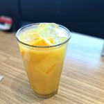 カフェ ソラーレ - オレンジジュース
