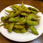東京ミート酒場 - 枝豆のペペロンチーノ
