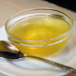 天香回味 - コースのデザートはオーギョーチ
