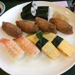 旭寿司 - 単品注文で860円は安いです。(^^) 通常1700円はよそで注文するとします。