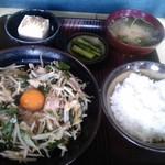 69161204 - 「炒め定食(700円・税込)」