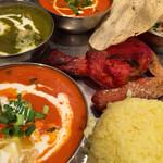 スパイスマジック カルカッタ - 北インドの定食   お馴染みのメニュー!素材の味を大切にしてます!美味い!ボリューム凄い!