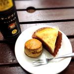ウォルターピークファーム - 料理写真:ニューヨークチーズケーキとスコーン