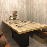 ナノ ビーフガーデン - テーブル席