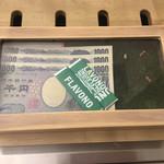 ナノ ビーフガーデン - 釣銭とガム