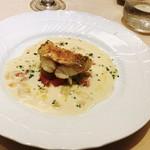 アルポルト神戸 - 甘鯛の笠松焼野菜ソース