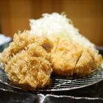 のもと家 - 料理写真:ロースミックス定食(ロース、ヒレ1枚)