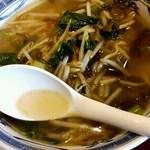 中国食彩 龍圓 - プチ麺の塩高菜そば