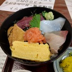69167423 - おまかせ定食(海鮮丼)