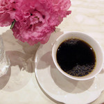 ワンダースイーツキヨナガ - スイーツセット(1200円)のコーヒー