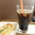 サンマルクカフェ 西武新宿ぺぺ店 - アイスコーヒー Mサイズ
