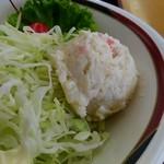 弁菜亭 - ポテサラが嬉しいです!