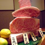 板前焼肉 時じ - 料理写真:最高黒毛和牛をまるごと一頭仕入れ。