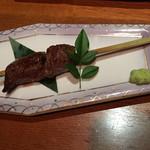 東京 今井屋本店 - 牛串炙り焼き