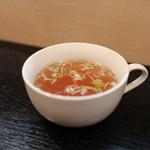 ぎょうざや よっちゃん - カップスープ☆