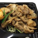 竹内精肉店 - 2016.5.11  豚しょうが焼き弁当 大盛