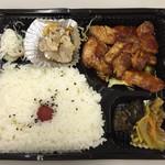 竹内精肉店 - 2016.5.26  ポークチャップ弁当 大盛