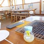 細島牡蠣小屋 かき寧 - 2017年5月 今回は店員さんに焼いてもらいました~(´▽`)