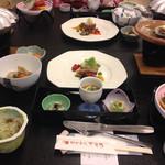 フォレストリゾート ゆがわら万葉荘 - 料理写真:夕食