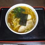 喜奴屋 - 中華そば(正油・太麺)