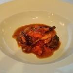 銀座清月堂 - [料理] アイナメのポワレとラタトゥイユ 全景♪w