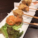 Dainingufujikura - 魚串 天ぷら