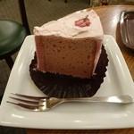 モリバコーヒー - 桜シフォンケーキ