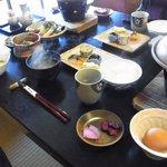 草太郎庵 - 宿の朝食