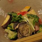 ゆず家 - 七品目の焼野菜サラダ