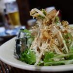 居酒屋 よさく - サラダ