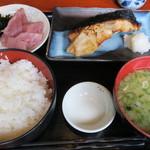 味どころ 遊 - 黒むつの西京焼き定食
