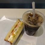 カフェデンマルク - アイスコーヒー280円