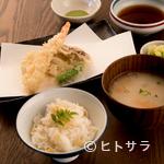 酒邸 吟乃香 - 八女の豊富な食材をふんだんに。サクサク食感の『天ぷら』