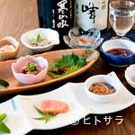酒邸 吟乃香 - お店のコンセプトは「料理をお酒と一緒に楽しんで」