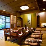 霞月楼 - 9室の日本間はすべてプライベート空間。大切なご接待の御席に…