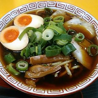 中華そば 麺屋7.5Hz - 料理写真:【中華そば(並) + 味付たまご】¥530 + ¥100