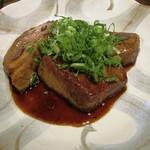 郷家 - 本マグロのニンニク醤油焼き