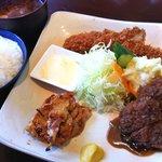 金龍 - 料理写真:レディースランチ1400円