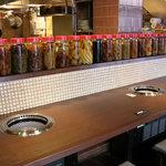 焼肉居酒家 韓の台所 - おひとり様でもOK!のカウンター席
