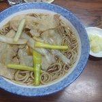 更科そば屋 - 料理写真:肉南蛮650円