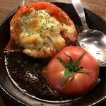 がブリチキン。 - 丸ごとトマトのガーリック焼き